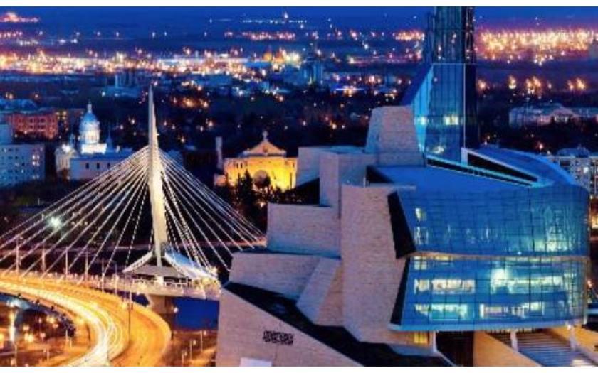Winnipeg: Muddy Water & Portage and Main