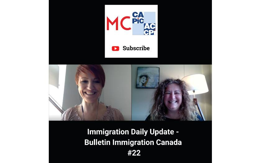 Immigration Daily Update - Bulletin Immigration Canada #22