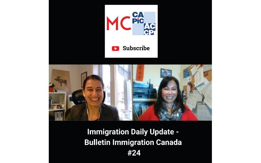 Immigration Daily Update - Bulletin Immigration Canada #24