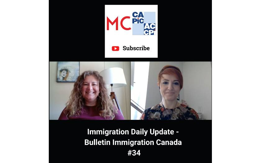 Immigration Daily Update - Bulletin Immigration Canada #34