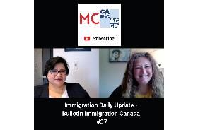 Immigration Daily Update - Bulletin Immigration Canada #37