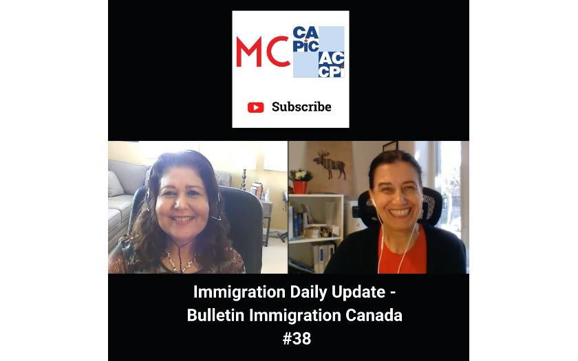 Immigration Daily Update - Bulletin Immigration Canada #38