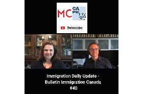 Immigration Daily Update - Bulletin Immigration Canada #40
