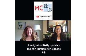 Immigration Daily Update - Bulletin Immigration Canada #41